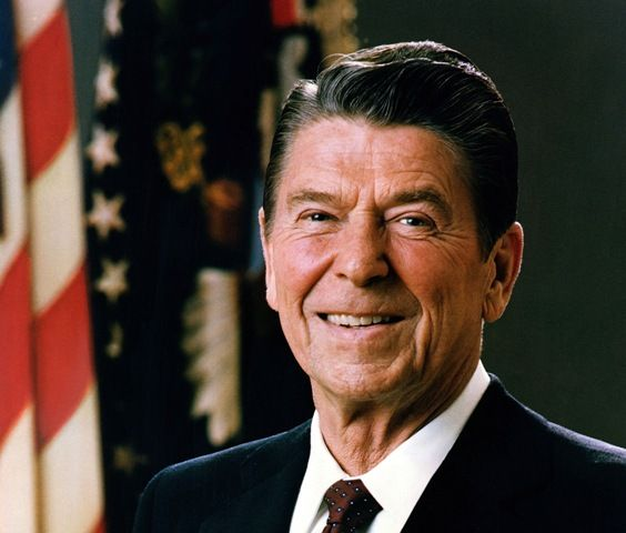 Ronald Reagan (1981) (Wikipedia)